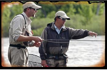 Pêche en Sèche